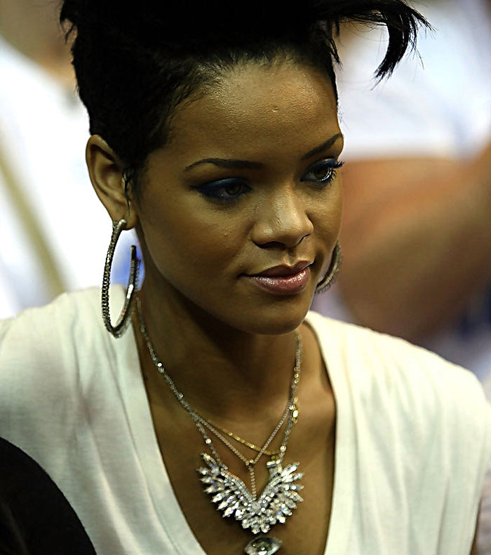 """RIHANNA""  ANGEL WING CRYSTAL NECKLACE"