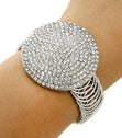 Load image into Gallery viewer, Round Statement Crystal  Bracelet