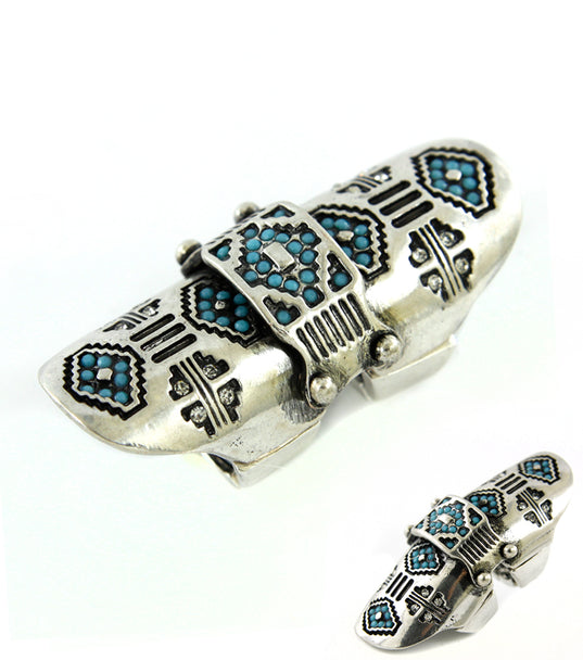 Stretch Join  Armor Crystal Ring