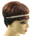 Load image into Gallery viewer, Pearl And Crystal Stretch Headband