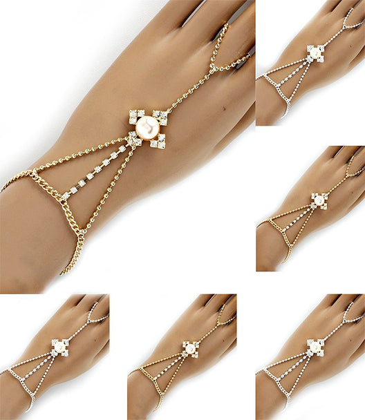 HANDCHAIN RING AND BRACELET SET