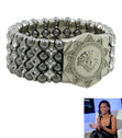 Load image into Gallery viewer, Lion Head Medallion  Bracelet