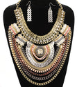Load image into Gallery viewer, 'Nicole'  Short Bib  Necklace