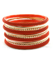 Load image into Gallery viewer, 'Sexy' Stackable Bangle Bracelet - Orange