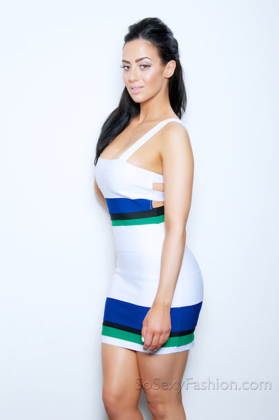 """DAPHNE"" LUXE BANDAGE DRESS"