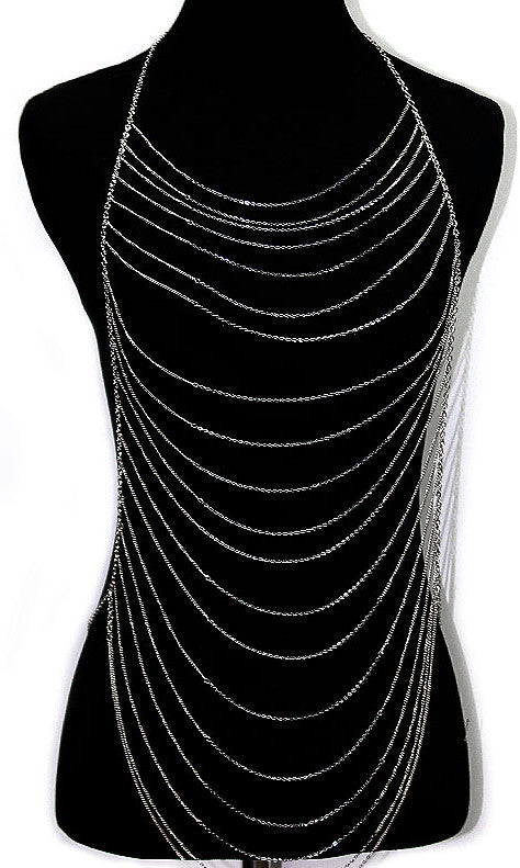 'ELIZA'  LAYERED BODY CHAIN