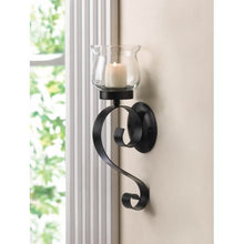 Load image into Gallery viewer, Lasting Impression Fluted Glass Cup Wall Sconce