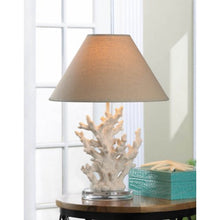 Load image into Gallery viewer, White Coral Table Lamp