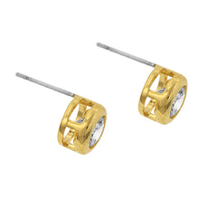 Load image into Gallery viewer, Golden Stunner Studs Earrings
