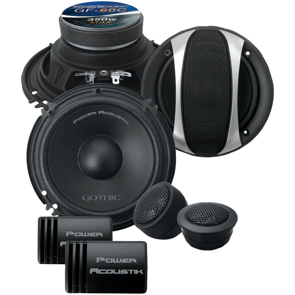 Power Acoustik Gothic Series 6.5
