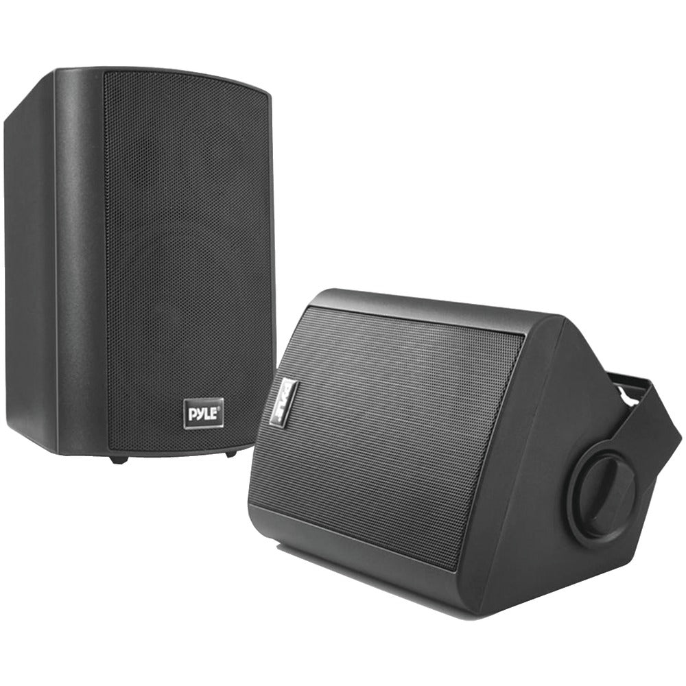 "Pyle Home 5.25"" Indoor And Outdoor Wall-mount Bluetooth Speaker System (black)"