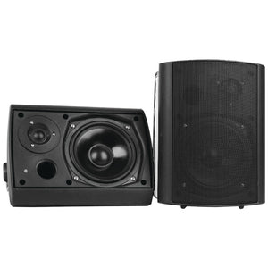 "Pyle Home 6.5"" Indoor And Outdoor Wall-mount Bluetooth Speaker System (black)"