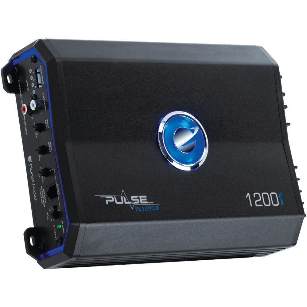Planet Audio Pulse Series 2-channel Mosfet Class Ab Amp (1200 Watts Max)