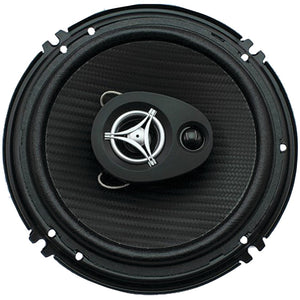 "Power Acoustik Edge Series Coaxial Speakers (6.5"" 3 Way, 400 Watts Max)"