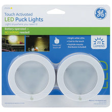Load image into Gallery viewer, General Electric Puck Light 2 Pk