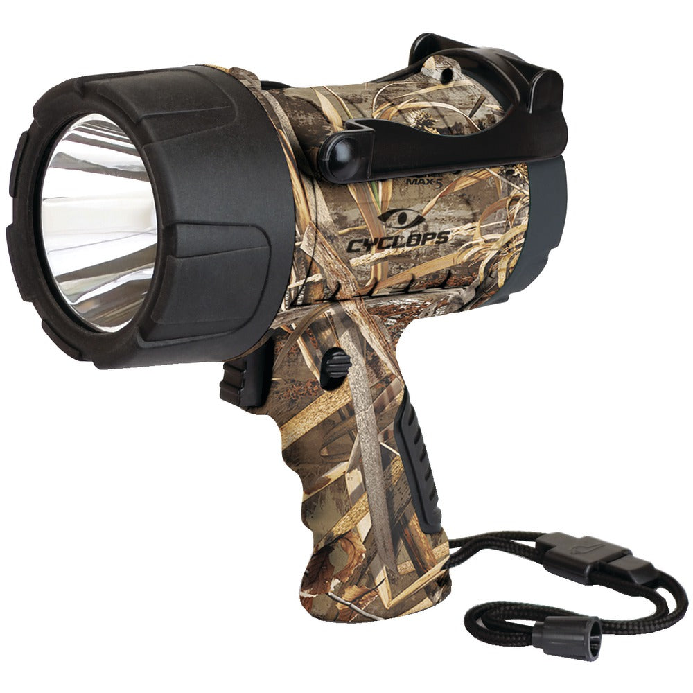 Cyclops 350-lumen Realtree Max-5 Camo Handheld Led Spotlight