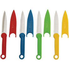 Load image into Gallery viewer, Starfrit Paring Knife Set With Covers