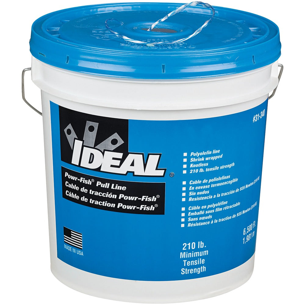 Ideal Powr-Fish Heavy-Duty Pull Line, 6,500 Feet