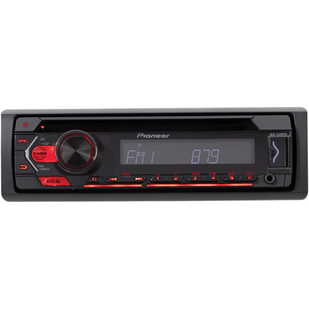 Pioneer Single-din In-dash Cd Player With Usb Port
