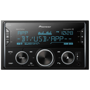 Pioneer Double-Din In-Dash Digital Media Receiver With Bluetooth And Sirius XM Ready