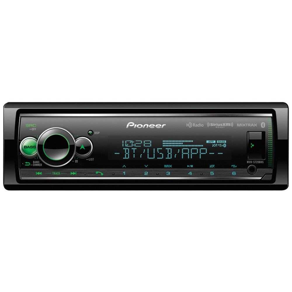 Pioneer Double-din In-dash Digital Media Receiver With Bluetooth Hd Radio And Siriusxm Ready
