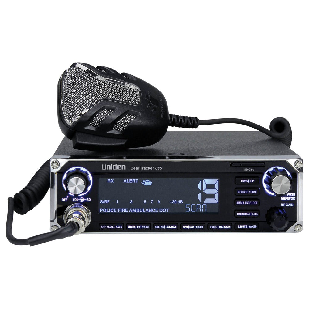 Uniden Beartracker 885 Hybrid Cb Radio And Digital Scanner