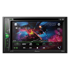 Pioneer 6.2-inch Double-din In-dash Multimedia Dvd Receiver With Bluetooth