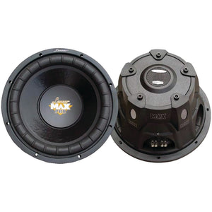 "Lanzar Maxpro Series Small 4Ohm Subwoofer (6.5"", 600 Watts)"