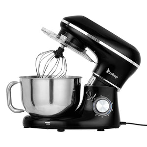 5.8QT 6 Speed Control Electric Stand Mixer with Stainless Steel Mixing Bowl Food Mixer
