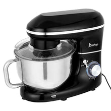 Load image into Gallery viewer, 5.8QT 6 Speed Control Electric Stand Mixer with Stainless Steel Mixing Bowl Food Mixer