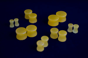 Ear Plugs - Glow in the Dark Orange