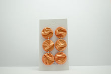 Load image into Gallery viewer, Polymer Clay 3 Tier Draped Circle Dangles Draped Collections