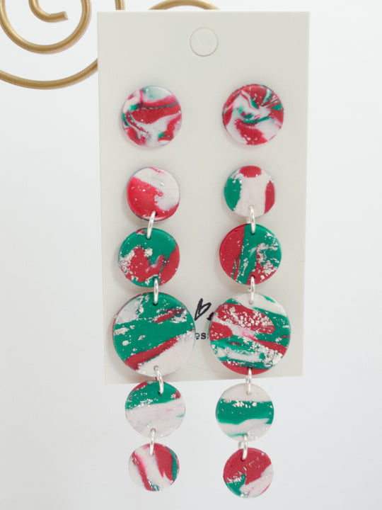 Polymer Clay Holiday Print