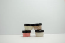 Load image into Gallery viewer, 4 Lip Scrub Mini Set .4 oz Each