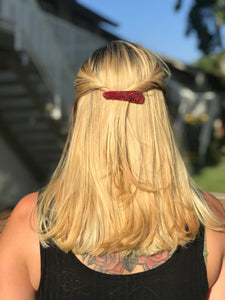Hair Clip - Red