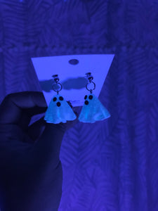 Polymer Clay Ghosts - Glow in the Dark (Sculpted)