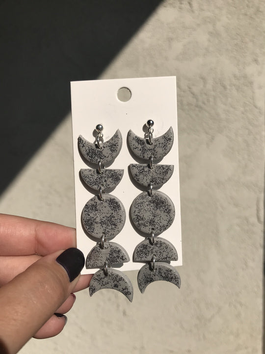 Polymer Clay Moon Phases