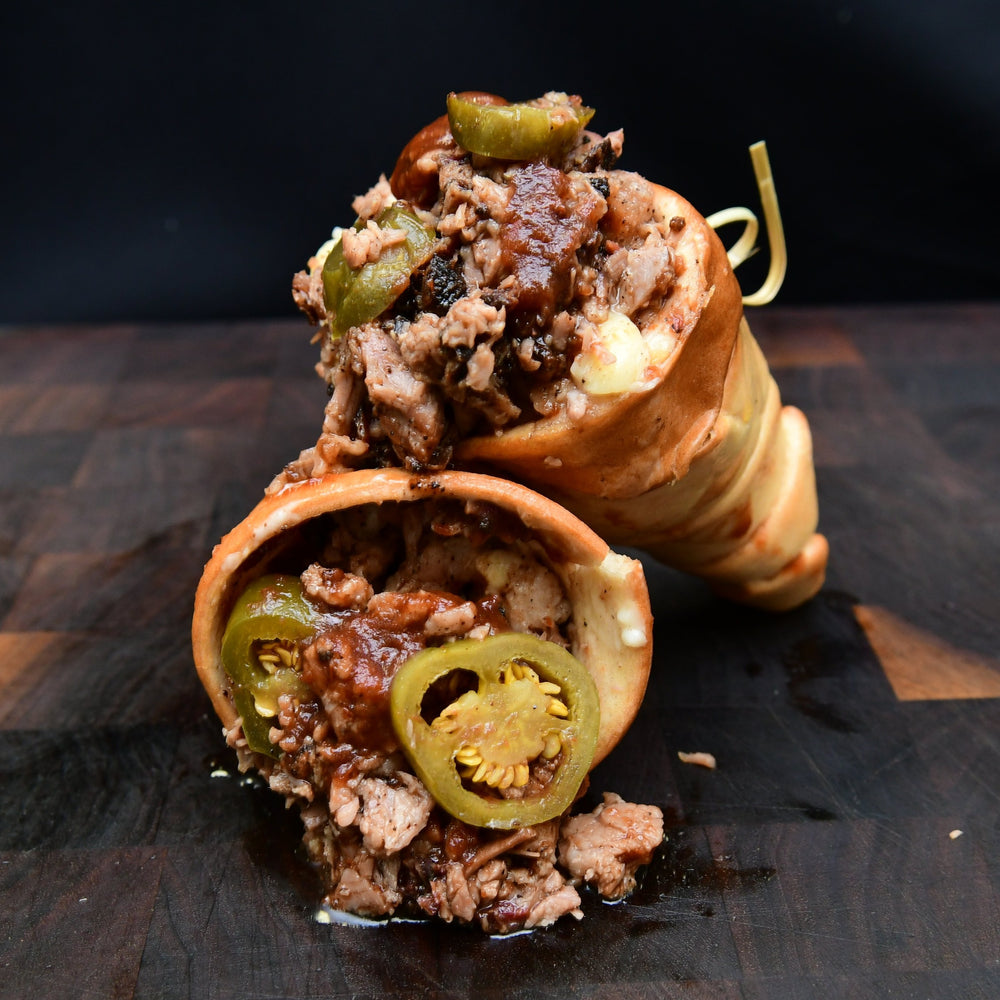 Brisket Mac 'n' Cheese Cone - servings up to 8 people