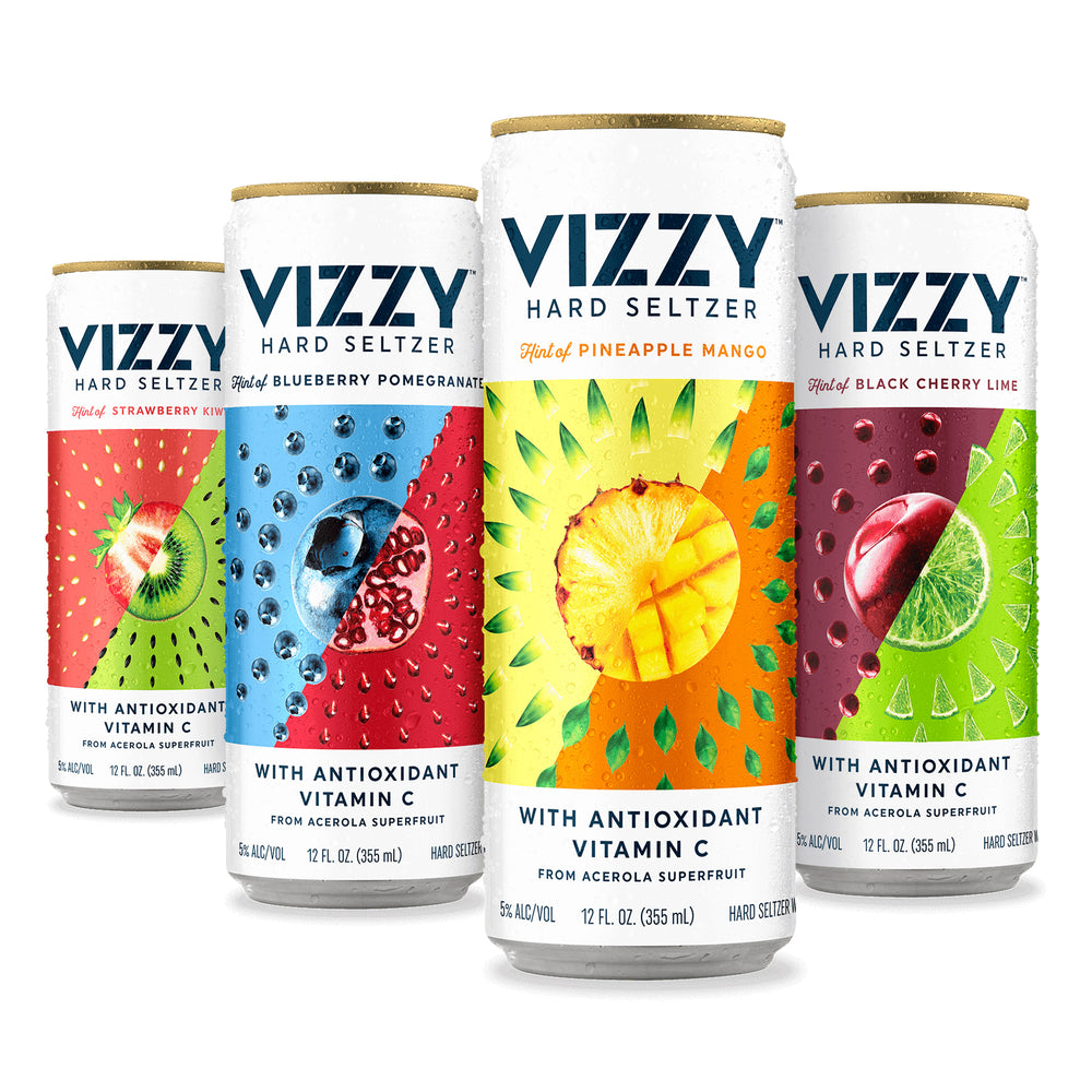 VIZZY SELTZERS - 12 PACK ASSORTMENT