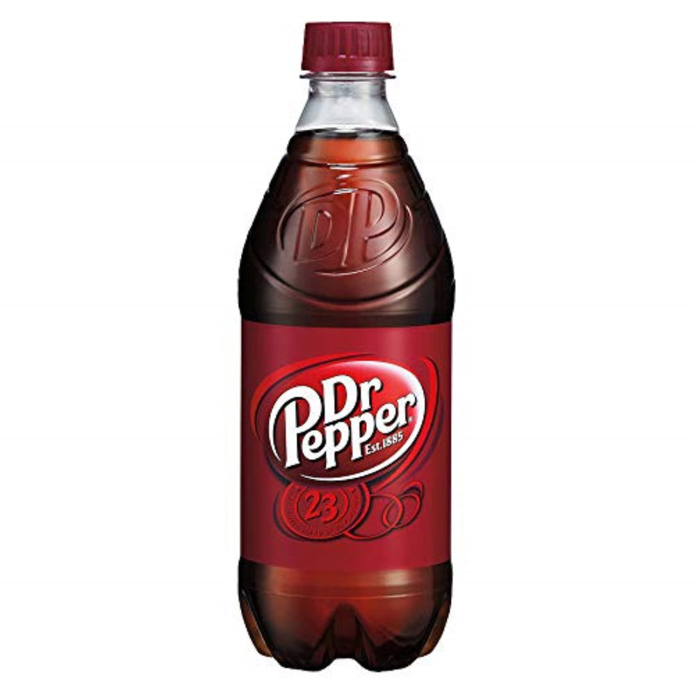 DR PEPPER - 12 PACK - 20 oz BOTTLES
