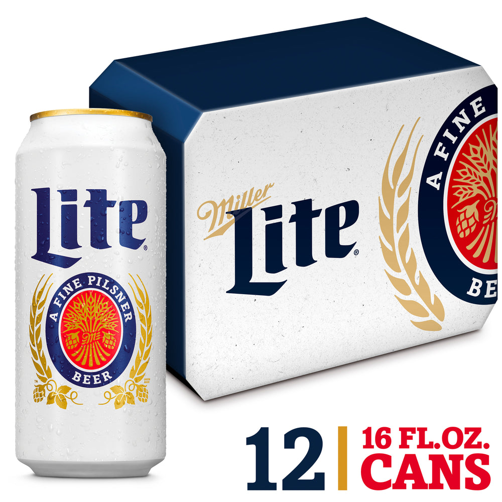 Load image into Gallery viewer, MILLER LITE - 12 PACK - 16 oz