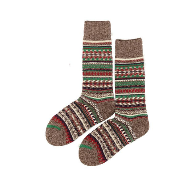 Men's Ethnic Style Vintage Style High Help Socks Apparel