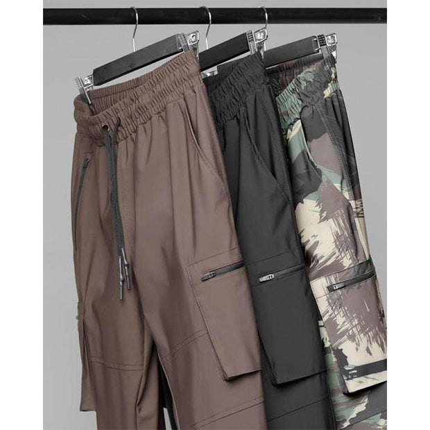 Man Casual Loose Camouflagen Pants