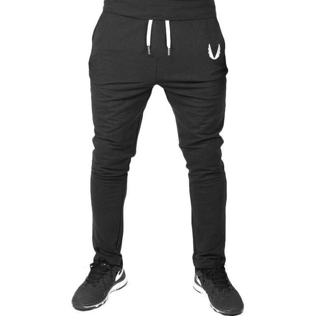 Men Casual Soild Color Sport Pants
