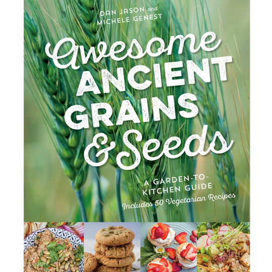 Awesome Ancient Grains and Seeds honoured with Cookbook Awards