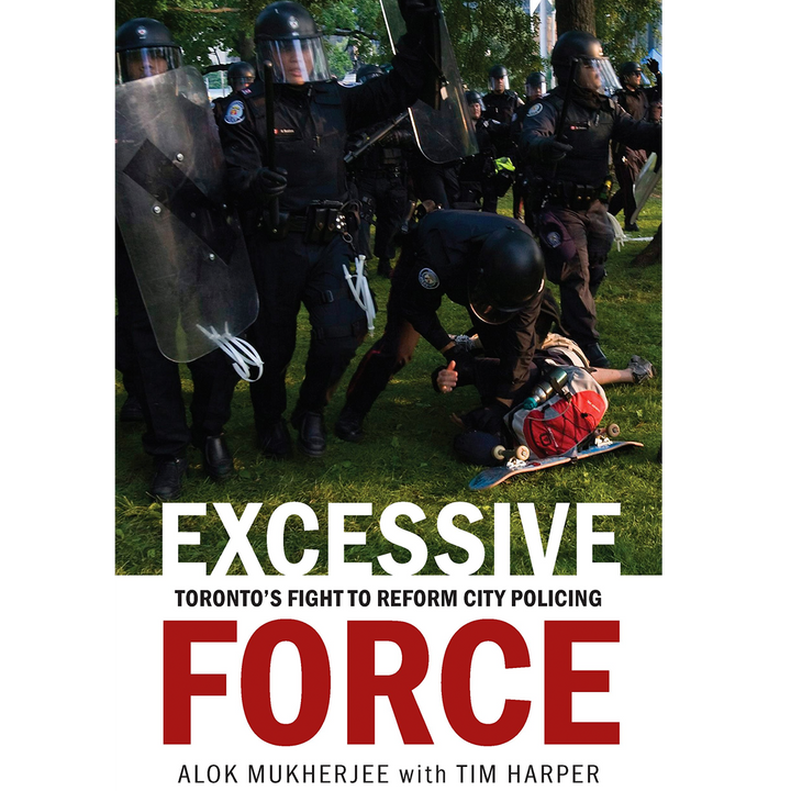 Excessive Force shortlisted for the Donner Book Prize