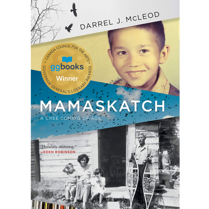 Darrel McLeod's Mamaskatch receives the 2018 Governor General's Literary Award for non-fiction