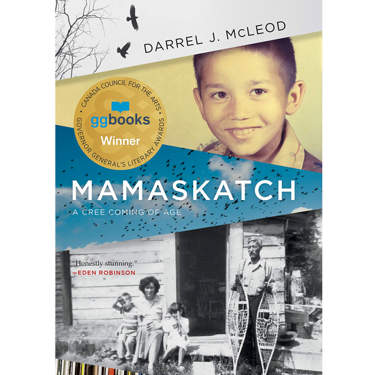 Darrel J. McLeod is a finalist for the 2019 City of Victoria Butler Book Prize