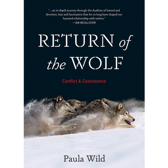 Return of the Wolf wins silver medal in International Book Awards