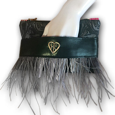 Fringe Perfect Little Clutch